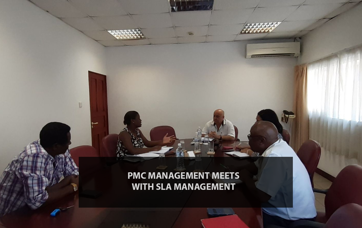 Meeting between PMC Management and SLA Management